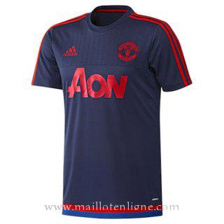 Maillot Manchester United Champion Formation Bleu marine 2015