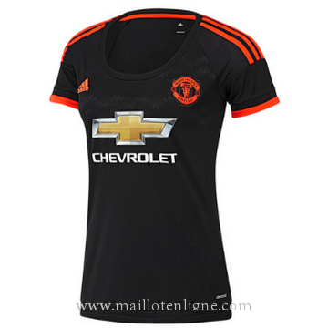 Maillot Manchester United Femme Troisieme 2015 2016