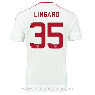 Maillot Manchester United LINGARD Exterieur 2015 2016