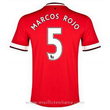 Maillot Manchester United MARCOS ROJO Domicile 2014 2015