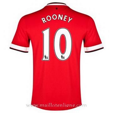 Maillot Manchester United ROONEY Domicile 2014 2015