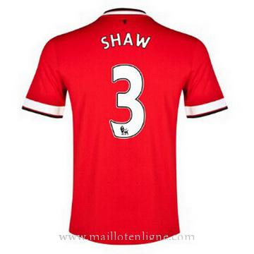 Maillot Manchester United SHAW Domicile 2014 2015