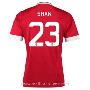 Maillot Manchester United SHAW Domicile 2015 2016