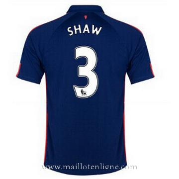 Maillot Manchester United SHAW Troisieme 2014 2015