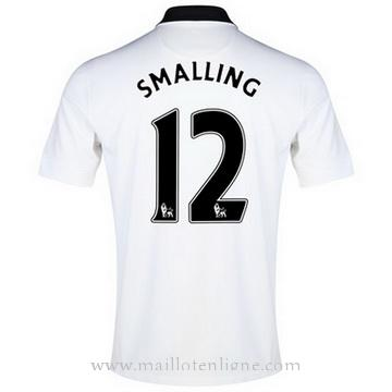 Maillot Manchester United SMALLING Exterieur 2014 2015