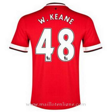 Maillot Manchester United W.KEANE Domicile 2014 2015