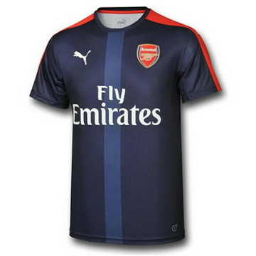 Maillot avant-match Arsenal Bleu 2016 2017