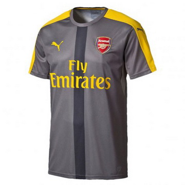 Maillot avant-match Arsenal Gris 2016 2017