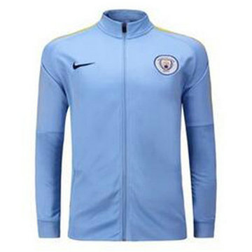 Veste de foot Manchester City 2016 2017 Bleu