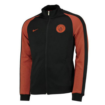 Veste de foot Manchester City 2016 2017 noir