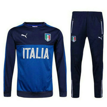 Maillot Formation Italie ML bleu 2016 2017