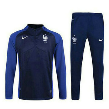 Maillot de France Formation ML bleu marine 2016/2017