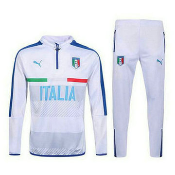 Maillot de Italie Formation ML blanc 2016/2017