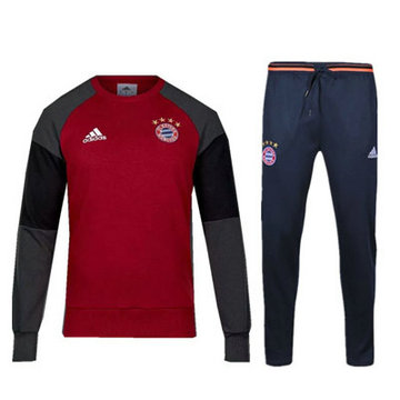 Maillot de Bayern Munich Formation ML rouge 2016/2017