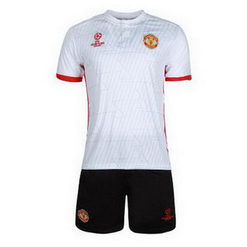 Maillot de Formation Manchester United Blanc UCL 2017/2018
