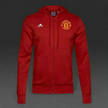 Vestes foot Manchester United 2016 2017 Rouge-1