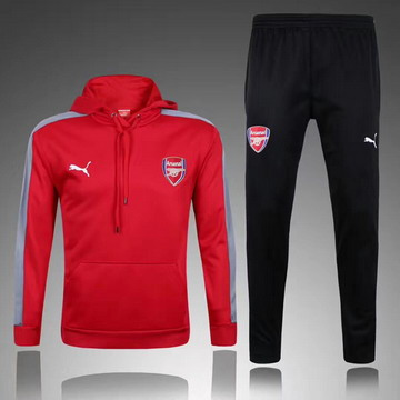 Maillot de Arsenal Formation ML rouge 2017/2018