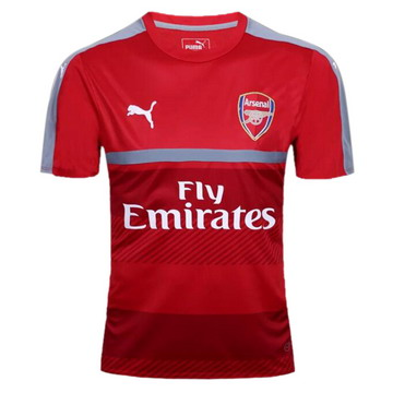 Maillot de Formation Arsenal rouge-01 2017/2018