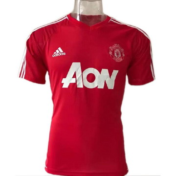 Maillot de Formation Manchester United rouge-01 2017/2018