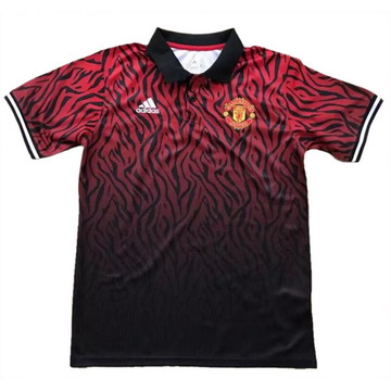 Maillot de Polo Manchester United rouge 2017/2018