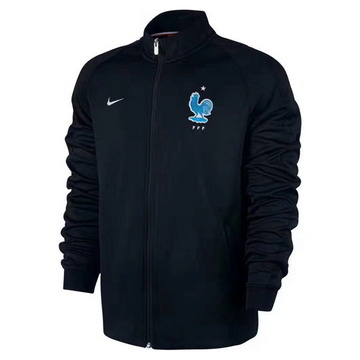 Vestes foot France 2017/2018 noir
