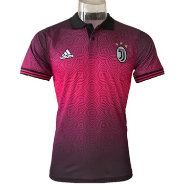 Maillot de Polo Juventus Rose rouge 2017/2018