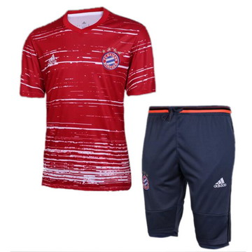 Maillot de Formation Bayern Munich rouge-01 2017/2018
