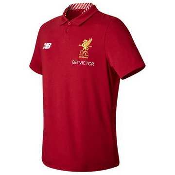 Maillot de Polo Liverpool rouge-01 2017/2018