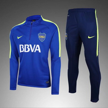 Maillot de Boca Juniors Formation ML bleu 2017/2018