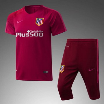 Maillot de Formation Atletico Madrid rouge-01 2017/2018
