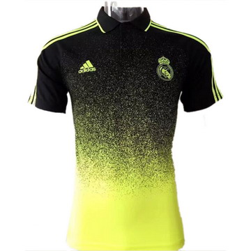 Maillot de Polo Real Madrid jaune 2017/2018
