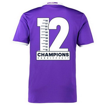 Maillot de Real Madrid Champions-04 2017
