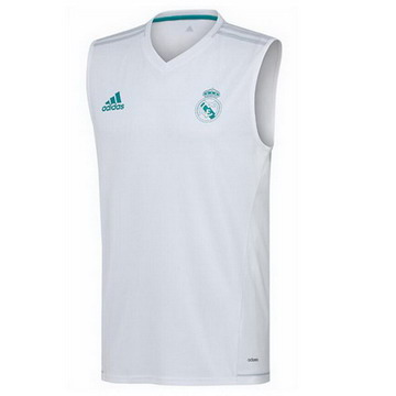 Maillot de Gilet Real Madrid blanc 2017 2018