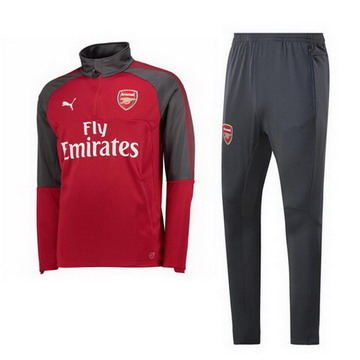 Maillot de Arsenal Formation ML rouge-01 2017/2018
