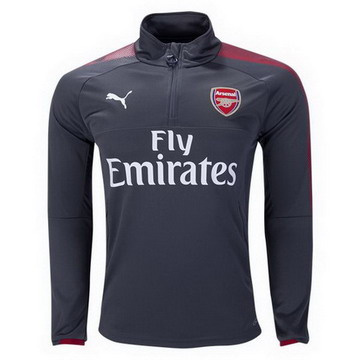 Maillot de Arsenal Formation ML Gris 2017/2018