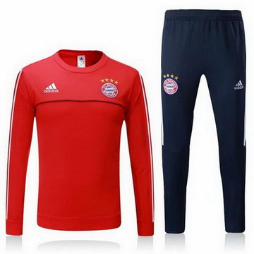 Maillot de Bayern Munich Formation ML rouge-03 2017/2018