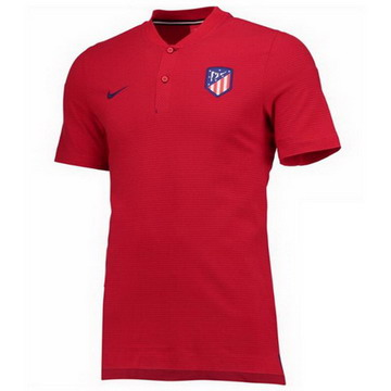 Maillot de Polo Atletico Madrid Rouge 2017/2018