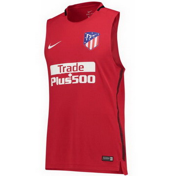Maillot de Sans Manches Atletico Madrid Rouge 2017/2018