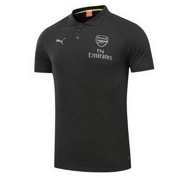 Maillot de Polo Arsenal Noir 2017/2018