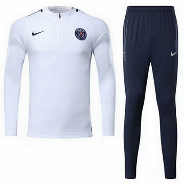 Maillot de PSG Formation ML blanc 2017/2018