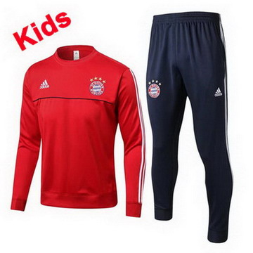Maillot de Bayern Munich Enfant Formation ML Rouge 2017/2018