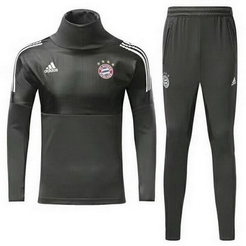 Maillot de Bayern Munich Formation ML Gris 2017/2018