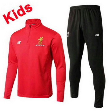 Maillot de Liverpool Enfant Formation ML Rouge 2017/2018