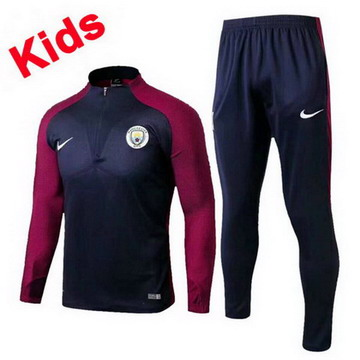 Maillot de Manchester City Enfant Formation ML 2017/2018