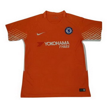 Maillot de Chelsea Gardien Orange 2017/2018