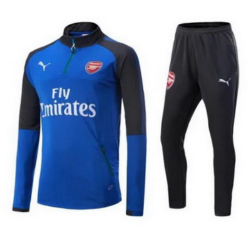 Maillot de Arsenal Formation ML Blu scuro 2017/2018