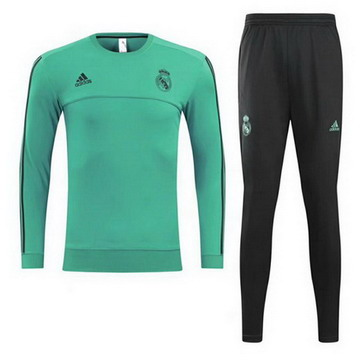 Maillot de Real Madrid Formation ML Vert 2017/2018