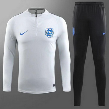 Maillot de Angleterre Formation ML Blanc 2018/2019