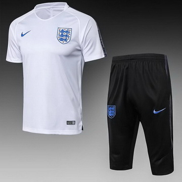 Maillot de Formation Angleterre Blanc 2018/2019