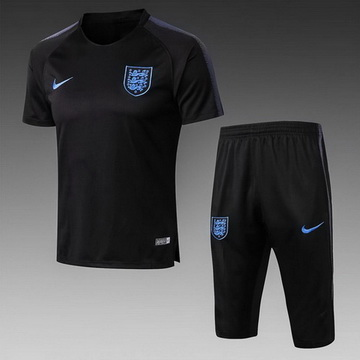 Maillot de Formation Angleterre Noir 2018/2019